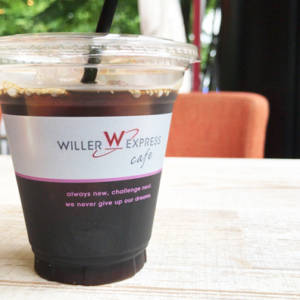 WILLER EXPRESS CAFEのアイスコーヒー