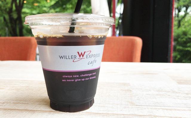 WILLER EXPRESS CAFEのアイスコーヒー