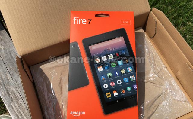 amazonタブレットfire7