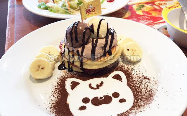 デニーズ子供用パンケーキ