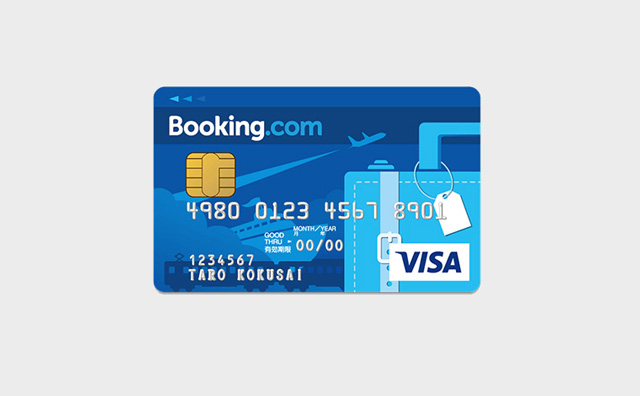 Booking.comカード デザイン