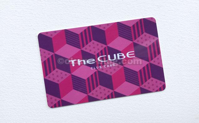ザキューブクラブカード
