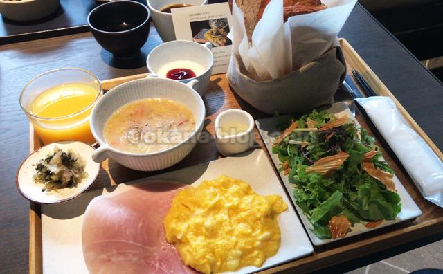京都駅徒歩圏内「hotel tou nishinotoin kyoto」の朝食